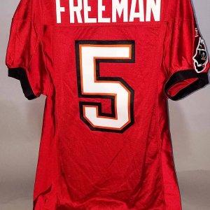 2011 Josh Freeman Game-Worn Tampa Bay Buccaneers Jersey - COA 100% Team