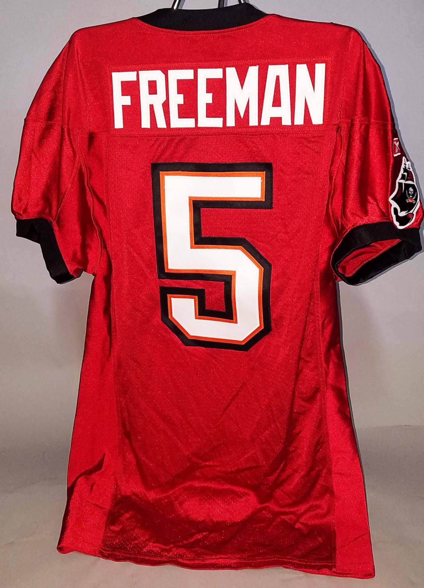 buy online ee941 2fafe 2011 Josh Freeman Game-Worn Tampa Bay Buccaneers Jersey - COA 100% Team