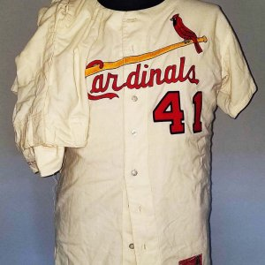 1964 Roger Craig Game-Worn St. Louis Cardinals Uniform WORLD SERIES (Jersey, Pants, Undershirt & Cap) - COA 100% Authentic Team-Graded 17/20