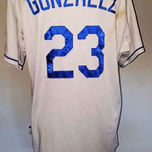2014 Adrian Gonzalez Game-Worn Los Angeles Dodgers Jersey - COA 100% Team