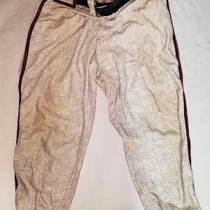 1954 Roy Smalley, Jr. Game-Worn Milwaukee Braves Pants - COA 100% Team
