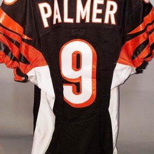 2007 Carson Palmer Cincinnati Bengals Game-Worn Jersey - COA 100% Team