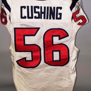 2011 Brian Cushing Game-Worn, Signed Houston Texans Jersey - COA 100% Team & PSA/DNA