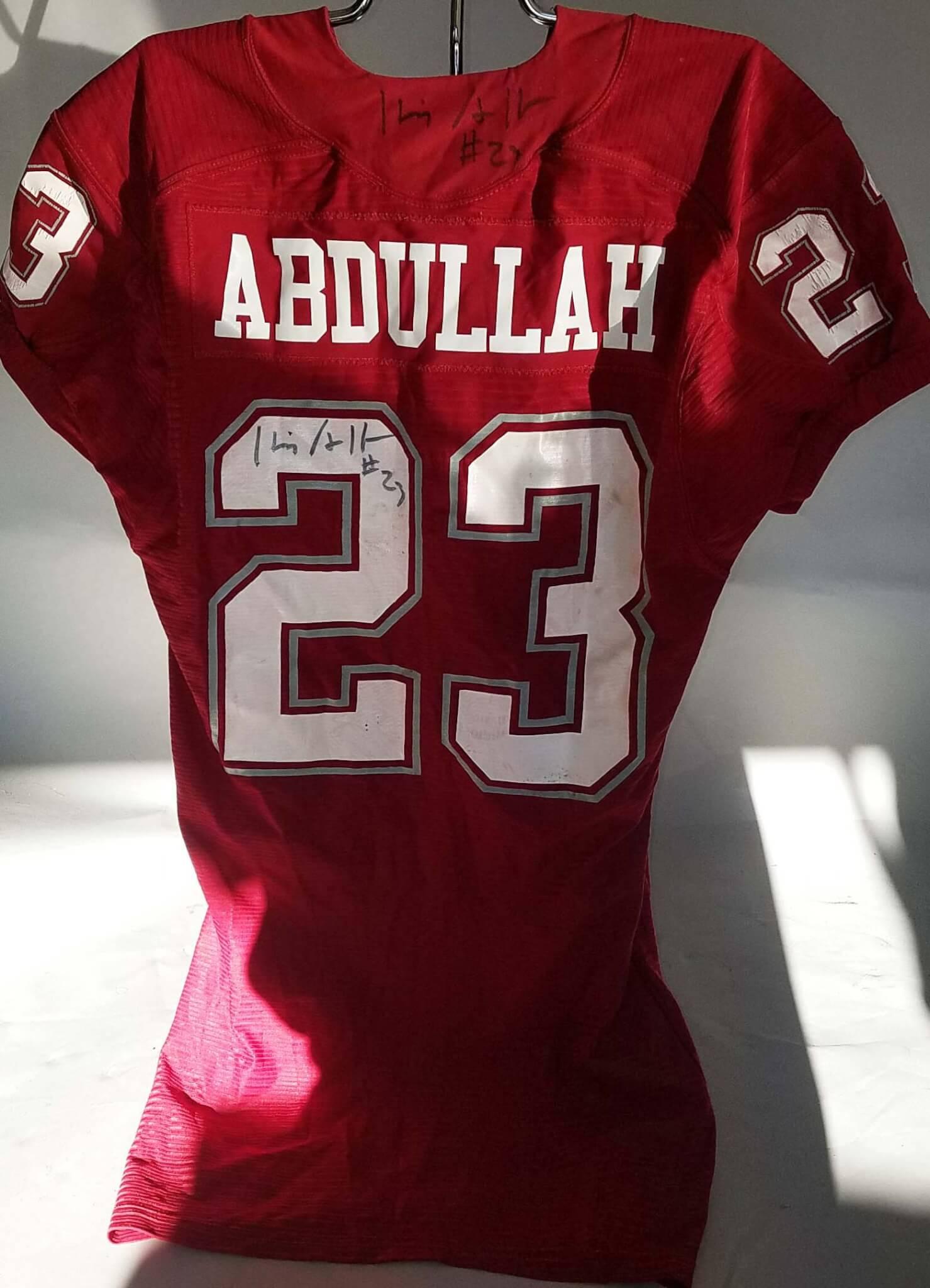 on sale cae91 f91f1 Husain Abdullah Game-Worn, Signed Washington State Cougars Jersey - COA  100% Team