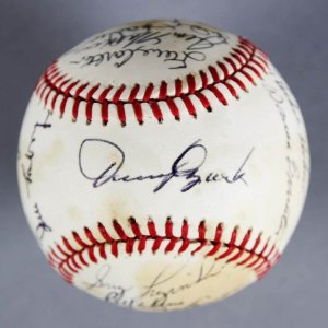 "78 Philadelphia Phillies  ""NL East Champs"" Team-Signed Baseball - Steve Carlton, Larry Bowa, etc. - JSA"