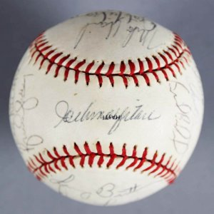 1980 Chicago Cubs Team-Signed Baseball - Joey Amalfitano, Dave Kingman etc. - JSA