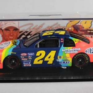 Jeff Gordon Signed DuPont Monte Carlo Model NASCAR Race Car - COA 100% Team