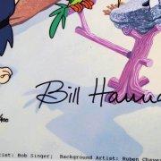 Hanna-Barbera Flintstones Cast Signed Original Hand Painted Cel JSA Full Letter