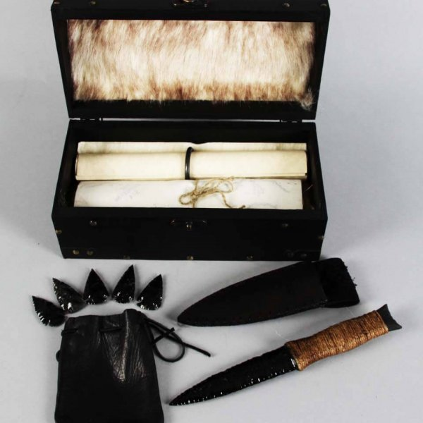 Game Of Thrones Night's Watch Dragonglass Dagger Set