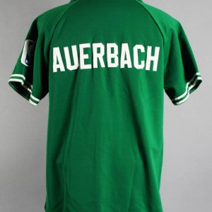 1970's Red Auerbach Boston Celtics Personal Game Warm-Up Jacket - COA 100% Team