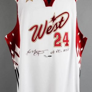 Kobe Bryant Signed LE 58/124 2007 All-Star Jersey - COA UDA & JSA Full Letter