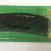 Muhammad Ali Signed The Champ 1970's Comb Full JSA LOA