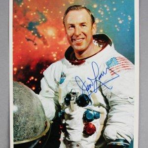Astronaut James Lovell Signed NASA 8x10 Photo - JSA Full LOA