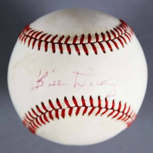 Bill Dickey Signed Baseball New York Yankees - JSA Full LOA