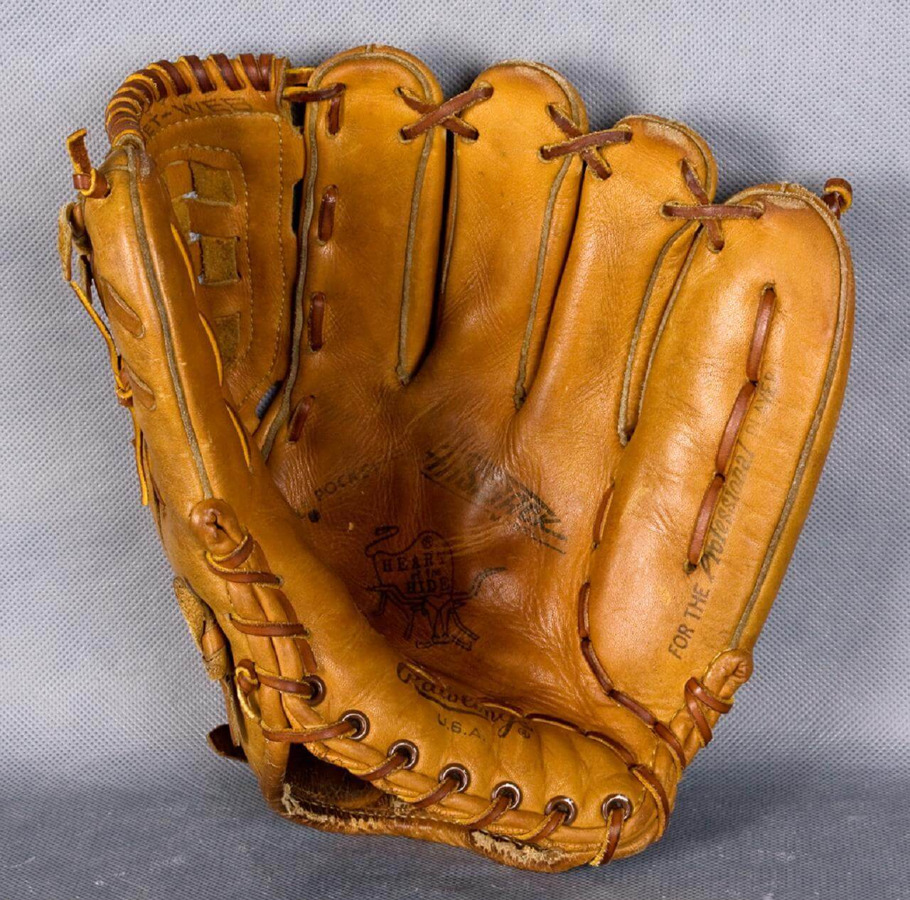 buy online d5156 92472 Roberto Clemente Game-Used Glove-Roberto in Right at Forbes