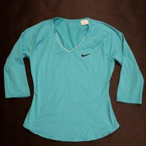 A Serena Williams Game-Used Custom Nike Tennis Shirt.  2016 WTA Sony Ericsson Open .