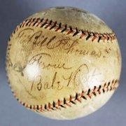 Babe Ruth Signed Baseball - New York Yankees Wilson Official League - JSA Full LOA & Provenance LOA