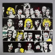 1978 Rolling Stones Some Girls LP (First Pressing) Feat. Die Cut Celebrity Faces Lucy, Marilyn etc. & She Was Hot Picture Disc