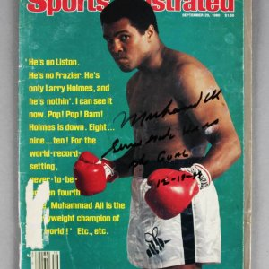 Muhammad Ali Signed, Inscribed & Dated Sports Illustrated Magazine - JSA