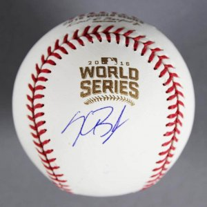 Kris Bryant Signed Official 2016 World Series Baseball Chicago Cubs (MLB)