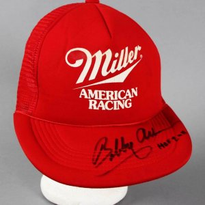 Bobby Allison Signed NASCAR Orginal Racing Team Hat - COA JSA
