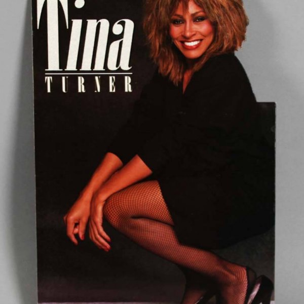 1984 Tina Turner Die-Cut Display - For Tower Records Display