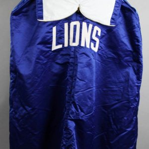 Early To Mid '70's Detroit Lions Game-Worn Sideline Cape