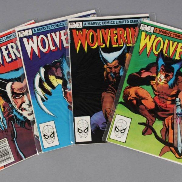 1982 Wolverine Comic Book Limited Series #1-4-Marvel Comics