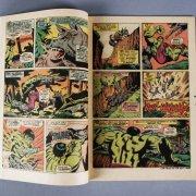 1974 Hulk Comic Book #180 Fine Wolverine Camio Appearance