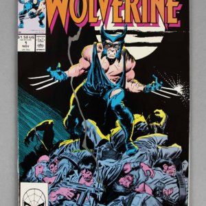 "1988 Wolverine Comic Book ""COMPLETE SET"" #1-189 Nov 1"