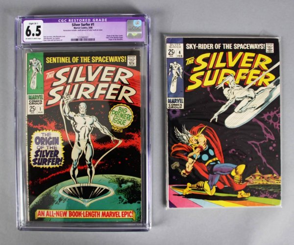 1968 Silver Surfer Comic Book SET 1-18- CGC 6.5 Marvel Comics