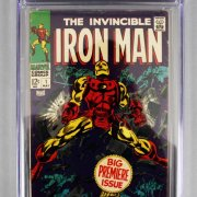 1968 Iron Man #1 Comic Book CGC 4.0 w/ Complete Set 500 Issues