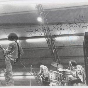 Jim Hendrix Signed Photo - VINTAGE ORIGINAL B&W 8x10 Photo