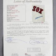 Ted Williams Signed Boston Red Sox M&N Jersey - JSA Full LOA