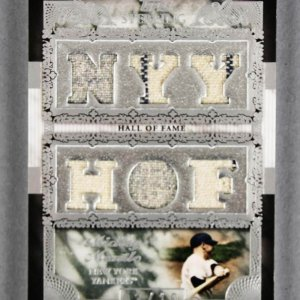 2007 Topps Sterling Mickey Mantle Game-Used Yankees Jersey Card - Sterling Stardom 3/10