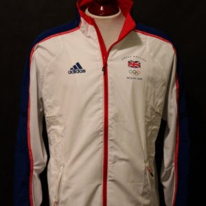An Andy Murray Game-Used Team GB 2008 Beijing Olympic Games Tennis Jacket.