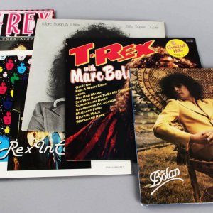 T. Rex Music Record Albums Lot of (6) From Original Tower Records