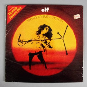 1972 Elf - Ronnie James Dio Record Album (Sealed) From Original Tower Records
