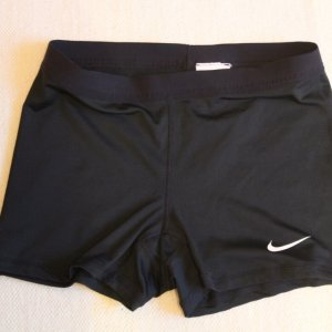 A Pair of Serena Williams Game-Used Custom Nike Tennis Shorts.  2014/15 WTA Tour.