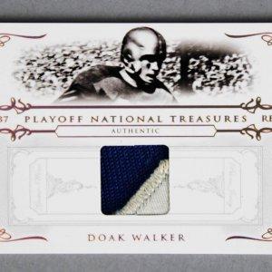2007 National Treasures Doak Walker Game-Worn Detroit Lions Jersey Card 1/8