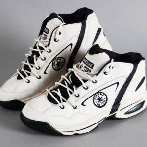 2000 Dennis Rodman Dallas Mavericks Game-Worn Shoes (Last Game Played) - COA 100% Team