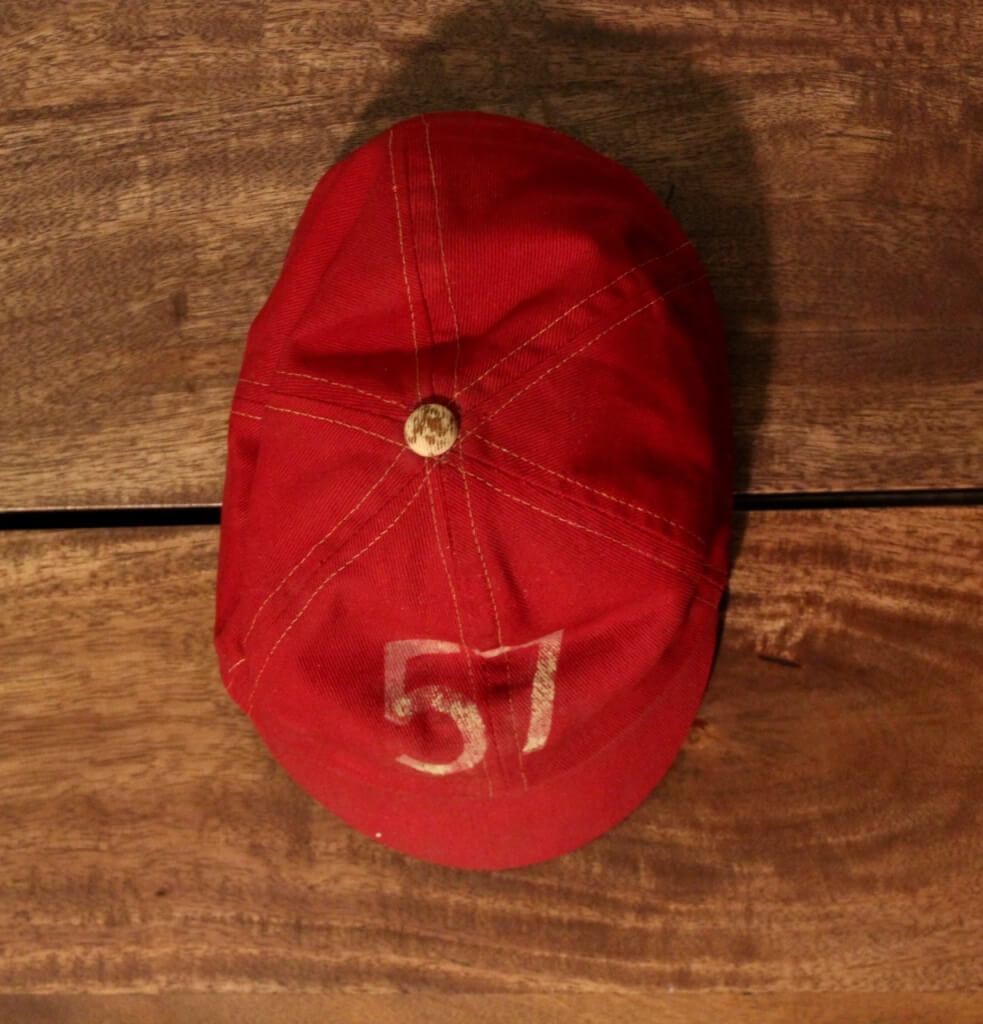 A Harvard University Cap.  Class of 1957.
