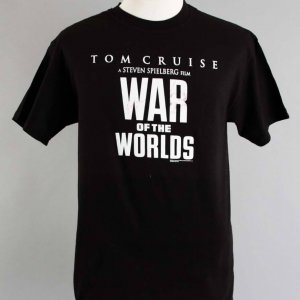 "Tom Cruise & Katie Holmes Signed ""War Of The Worlds"" T-Shirt - JSA"