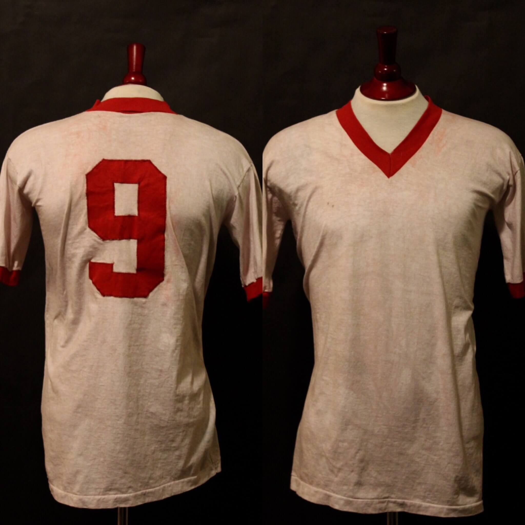 uk availability 661b5 9abad A Gerd Muller Game-Used #9 FC Bayern Munich Shirt. Circa Late 1960's.