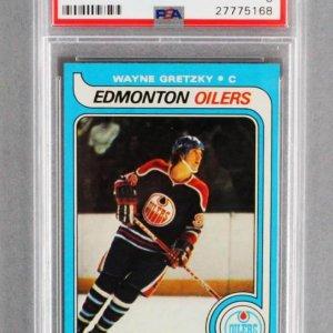 Wayne Gretzky Rookie Card #18 - PSA NM-MT 8