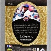 2007 UD Premier Jose Reyes Game-Worn New York Mets Jersey Card 7/7
