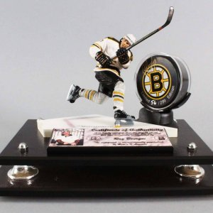 Ray Bourque Signed Boston Bruins LE 56/299 Hockey Puck Display - COA