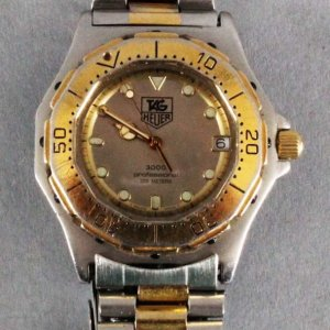 Tag Heuer 3000 Professional Watch-Used-Stainless Steel