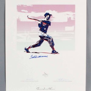 Ted Williams Signed Boston Red Sox Print (Carlo Beninati Artist Proof) 24.75x32 AP LE 25/29 - JSA