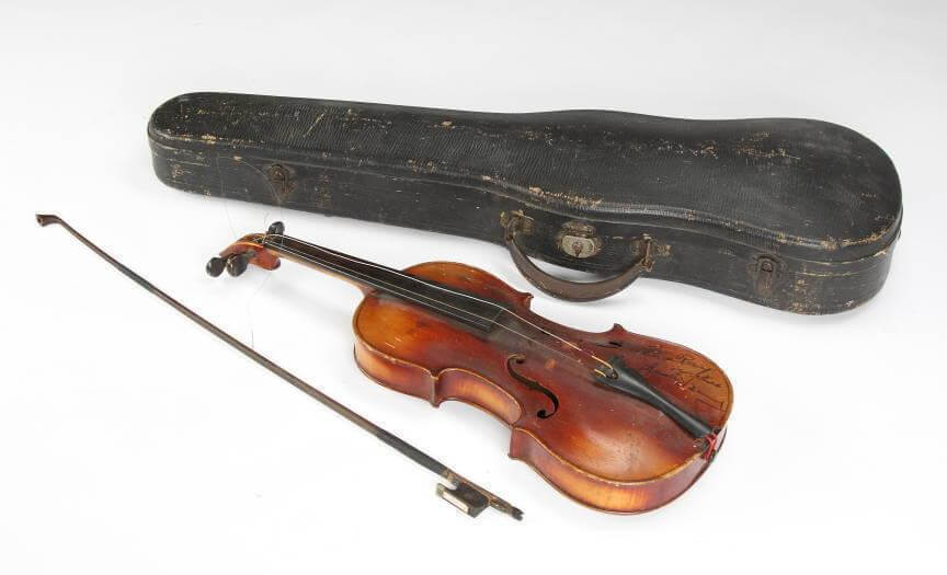 Jack Benny Used Violin- from his childhood.